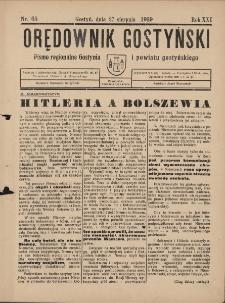 Orędownik Gostyński 1939.08.27 R.23 Nr 65