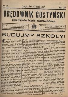 Orędownik Gostyński 1937.05.20 R.19 Nr 39