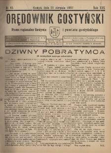 Orędownik Gostyński 1937.08.21 R.19 Nr 65
