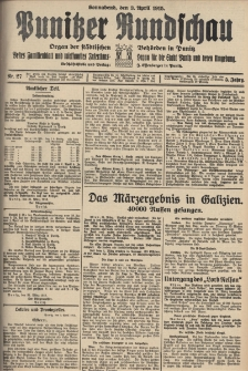 Punitzer Rundschau 1915.04.03 Nr 27