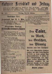 Gostyner Kreisblatt und Zeitung 1917.10.12 Nr 235