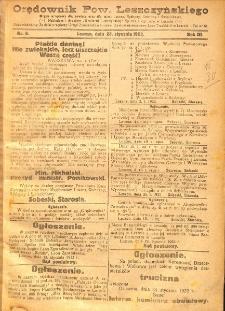 Orędownik Powiatu Leszczyńskiego 1922.01.28 R.3 Nr 6