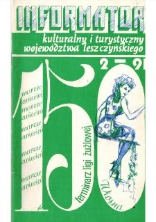 Informator Kulturalny i Turystyczny Województwa Leszczyńskiego 1991.03/04 Nr 2(150)