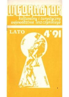 Informator Kulturalny i Turystyczny Województwa Leszczyńskiego 1991.07/08 Nr 4(152)