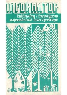 Informator Kulturalny i Turystyczny Województwa Leszczyńskiego 1991.11/12 Nr 6(154)