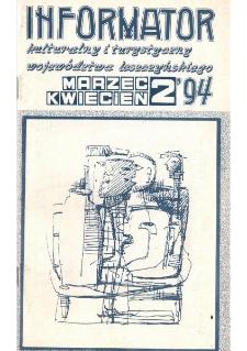 Informator Kulturalny i Turystyczny Województwa Leszczyńskiego 1994.03/04 Nr 2(168)