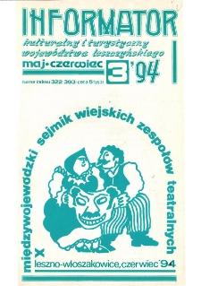 Informator Kulturalny i Turystyczny Województwa Leszczyńskiego 1994.05/06 Nr 3(169)
