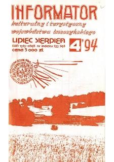 Informator Kulturalny i Turystyczny Województwa Leszczyńskiego 1994.07/08 Nr 4(170)