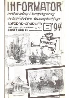 Informator Kulturalny i Turystyczny Województwa Leszczyńskiego 1994.11/12 Nr 6(172)