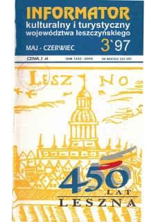 Informator Kulturalny i Turystyczny Województwa Leszczyńskiego 1997.05/06 Nr 3(187)