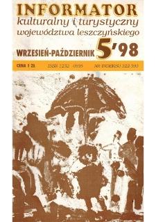 Informator Kulturalny i Turystyczny Województwa Leszczyńskiego 1998.09/10 Nr 5(195)