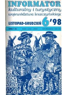 Informator Kulturalny i Turystyczny Województwa Leszczyńskiego 1998.11/12 Nr 6(196)