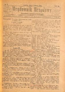 Orędownik Urzędowy Powiatu Leszczyńskiego 1928.02.04 R.9 Nr 5