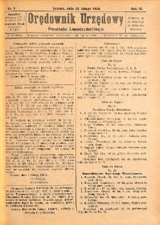 Orędownik Urzędowy Powiatu Leszczyńskiego 1928.02.25 R.9 Nr 8