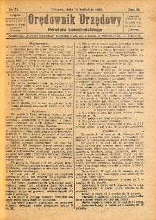 Orędownik Urzędowy Powiatu Leszczyńskiego 1928.04.14 R.9 Nr 15