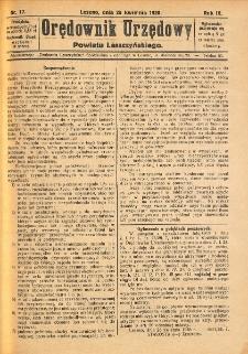 Orędownik Urzędowy Powiatu Leszczyńskiego 1928.04.28 R.9 Nr 17