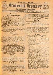 Orędownik Urzędowy Powiatu Leszczyńskiego 1928.05.26 R.9 Nr 22