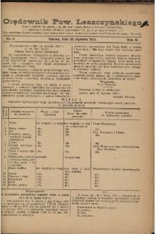 Orędownik Powiatu Leszczyńskiego 1921.01.22 R. 2 Nr 4