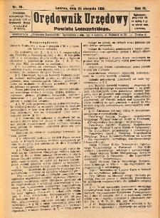 Orędownik Urzędowy Powiatu Leszczyńskiego 1928.08.25 R.9 Nr 35