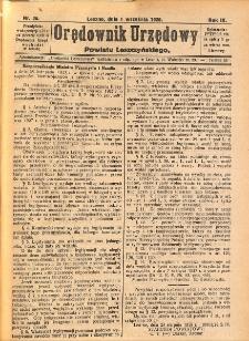 Orędownik Urzędowy Powiatu Leszczyńskiego 1928.09.01 R.9 Nr 36