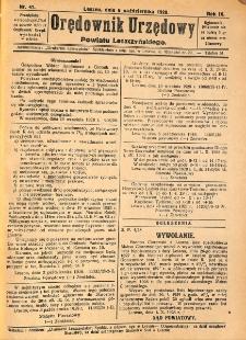 Orędownik Urzędowy Powiatu Leszczyńskiego 1928.10.06 R.9 Nr 41