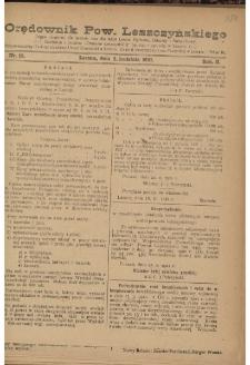 Orędownik Powiatu Leszczyńskiego 1921.04.02 R. 2 Nr 15