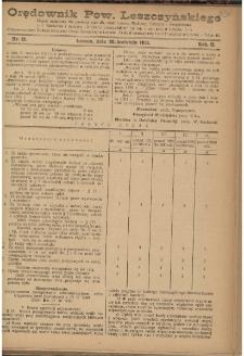 Orędownik Powiatu Leszczyńskiego 1921.04.30 R. 2 Nr 19