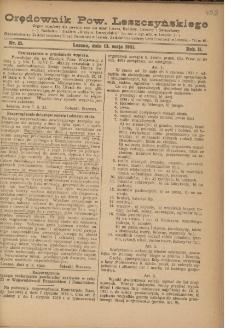 Orędownik Powiatu Leszczyńskiego 1921.05.13 R. 2 Nr 21