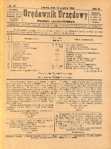 Orędownik Urzędowy Powiatu Leszczyńskiego 1928.12.15 R.9 Nr 51