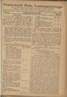 Orędownik Powiatu Leszczyńskiego 1921.07.30 R. 2 Nr 32