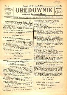 Orędownik Powiatu Leszczyńskiego 1932.01.16 R.12 Nr 3