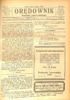 Orędownik Powiatu Leszczyńskiego 1932.02.06 R.12 Nr 6