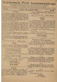 Orędownik Powiatu Leszczyńskiego 1921.12.14 R. 2 Nr 57
