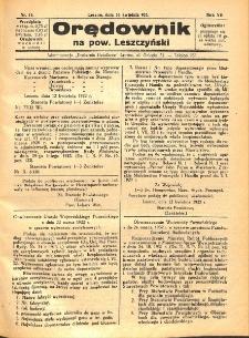 Orędownik na powiat Leszczyński 1932.04.16 R.12 Nr 16