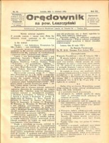 Orędownik na powiat Leszczyński 1932.06.11 R.12 Nr 25