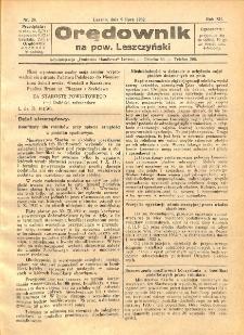 Orędownik na powiat Leszczyński 1932.07.09 R.12 Nr 28