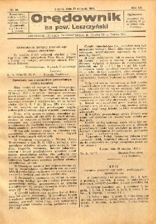 Orędownik na powiat Leszczyński 1932.08.27 R.12 Nr 34