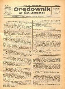 Orędownik na powiat Leszczyński 1932.10.01 R.12 Nr 39