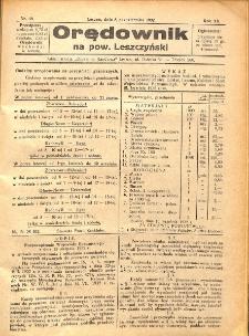 Orędownik na powiat Leszczyński 1932.10.08 R.12 Nr 40