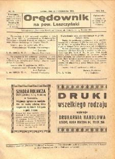 Orędownik na powiat Leszczyński 1932.10.22 R.12 Nr 42