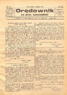 Orędownik na powiat Leszczyński 1932.12.17 R.12 Nr 50