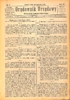 Orędownik Urzędowy Powiatu Leszczyńskiego 1926.01.23 R.7 Nr 5