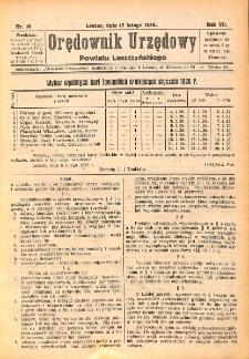 Orędownik Urzędowy Powiatu Leszczyńskiego 1926.02.17 R.7 Nr 10