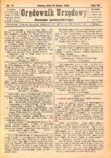 Orędownik Urzędowy Powiatu Leszczyńskiego 1926.02.24 R.7 Nr 11