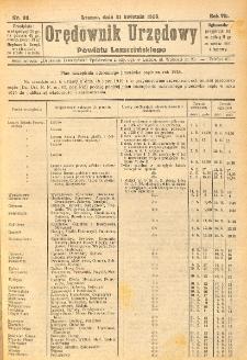 Orędownik Urzędowy Powiatu Leszczyńskiego 1926.04.21 R.7 Nr 20