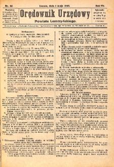 Orędownik Urzędowy Powiatu Leszczyńskiego 1926.05.01 R.7 Nr 22