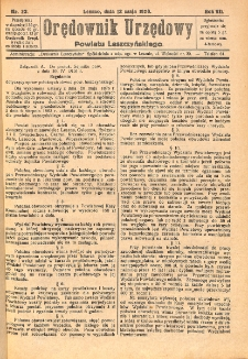 Orędownik Urzędowy Powiatu Leszczyńskiego 1926.05.12 R.7 Nr 23