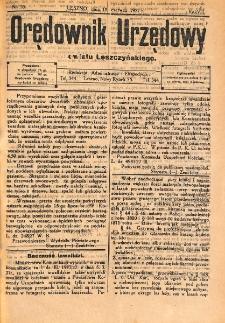 Orędownik Urzędowy Powiatu Leszczyńskiego 1927.06.18 R.8 Nr 35