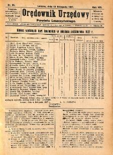 Orędownik Urzędowy Powiatu Leszczyńskiego 1927.11.12 R.8 Nr 55