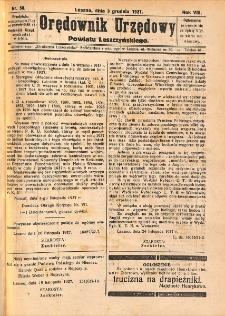 Orędownik Urzędowy Powiatu Leszczyńskiego 1927.12.03 R.8 Nr 58